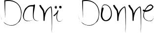 Danï Donne Font