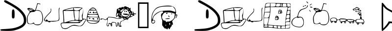 Daniel's Dingbat Font Font