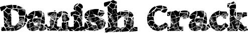 Danish Crack Font