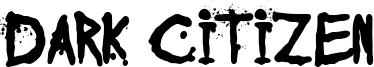 Dark Citizen Font