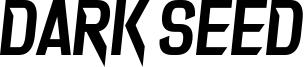 Dark Seed Font