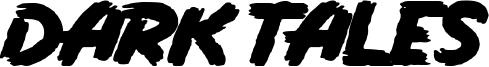 Dark Tales Font