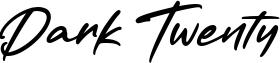Dark Twenty Font