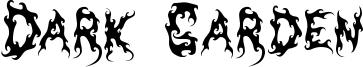 Dark Garden Font