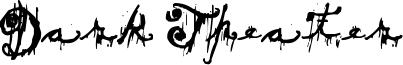 Dark Theater Font