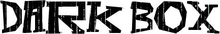Dark Box Font