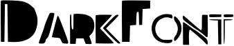 DarkFont Font