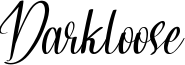 Darkloose Font