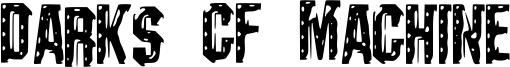 Darks CF Machine Font