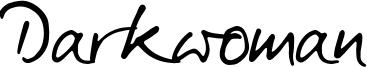 Darkwoman Font
