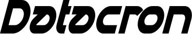 Datacron Condensed Italic.ttf