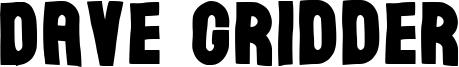 Dave Gridder Font