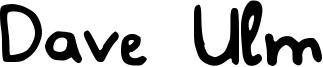 Dave Ulm Font