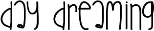 Day Dreaming Font