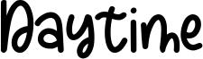 Daytime Font