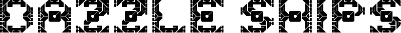 Dazzle Ships Font