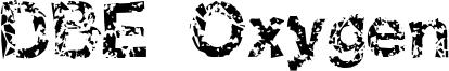 DBE Oxygen Font