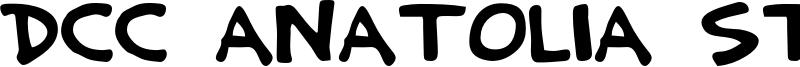 DCC Anatolia Strong Font