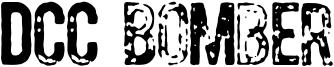 DCC Bomber Font