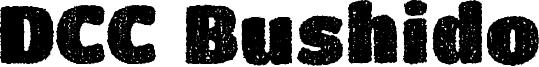 DCC Bushido Font