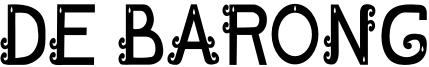 DE BARONG Font