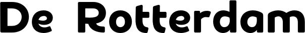 De Rotterdam Font