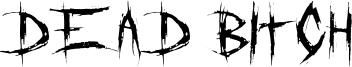 DeadBitch-Regular.otf