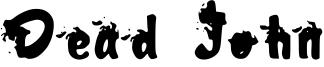 Dead John Font