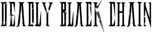 Deadly Black Chain.otf