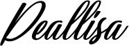 Deallisa Font