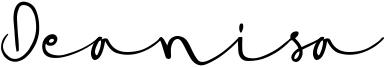Deanisa Font
