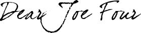 Dear Joe Four Font