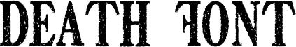 Death Font Font