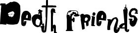 Death Friends Font
