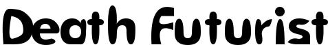 Death Futurist Font