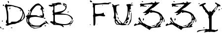 Deb Fuzzy Font