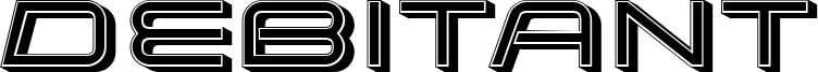Debitant Font