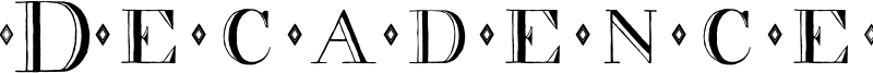Decadence Font