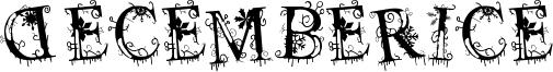 Decemberice Font