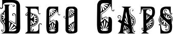 Deco Caps Font
