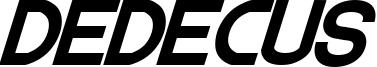 Dedecus Font