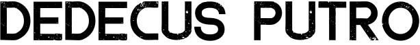 Dedecus Putro Font