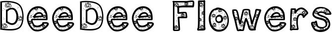 DeeDee Flowers Font