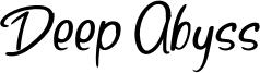 Deep Abyss Font
