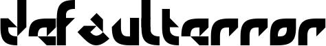 DefaultError Font
