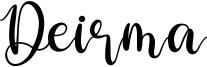 Deirma Font