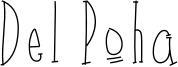 Del Poha Font