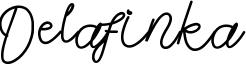Delafinka Font