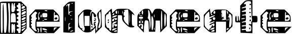 Delarmente Font