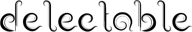 Delectable Font